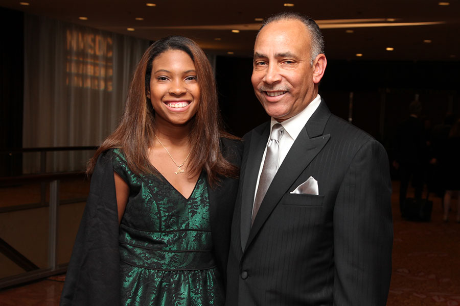 2015 CPO of the Year Honoree Shelley Stewart, Jr. with guest.