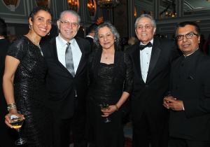 2015 Vangurd Award Honoree Fernando Martinez and Trailblazer Award Honoree Fred Lona with guests.
