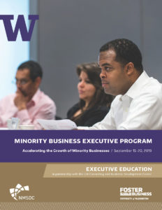 2019 Minority Business Enterprise Program Brochure