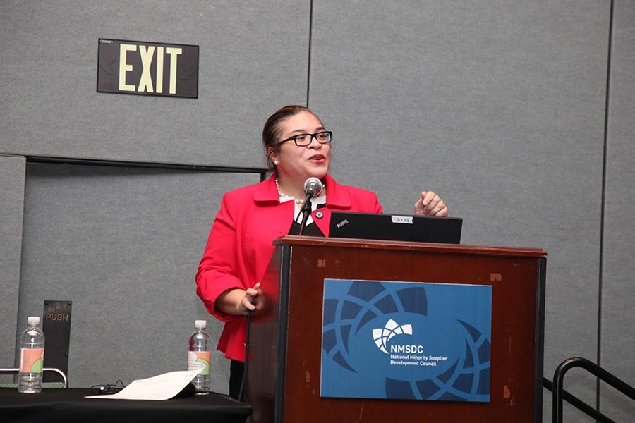 Carla Preston of Ford Motor Company