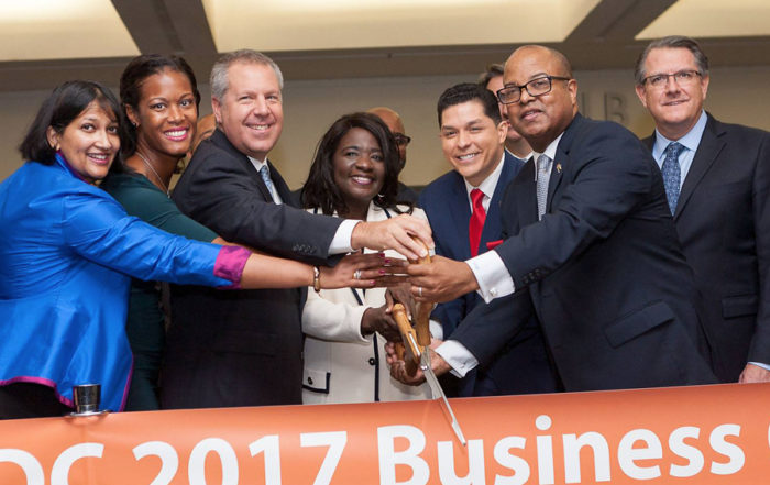 NMSDC 2017 Conference Ribbon Cutting Ceremony.