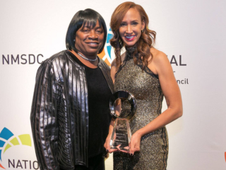 Conference Award Winner Pam Isom