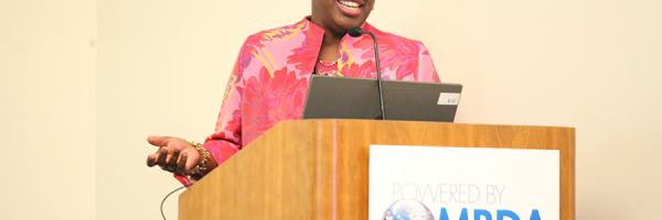 """Teresa L. G. Lewis (U.S. Department of Health and Human Services) at the """"Access Federal Contract Opportunities to Diversify & Grow Your Portfolio"""" Workshop"""