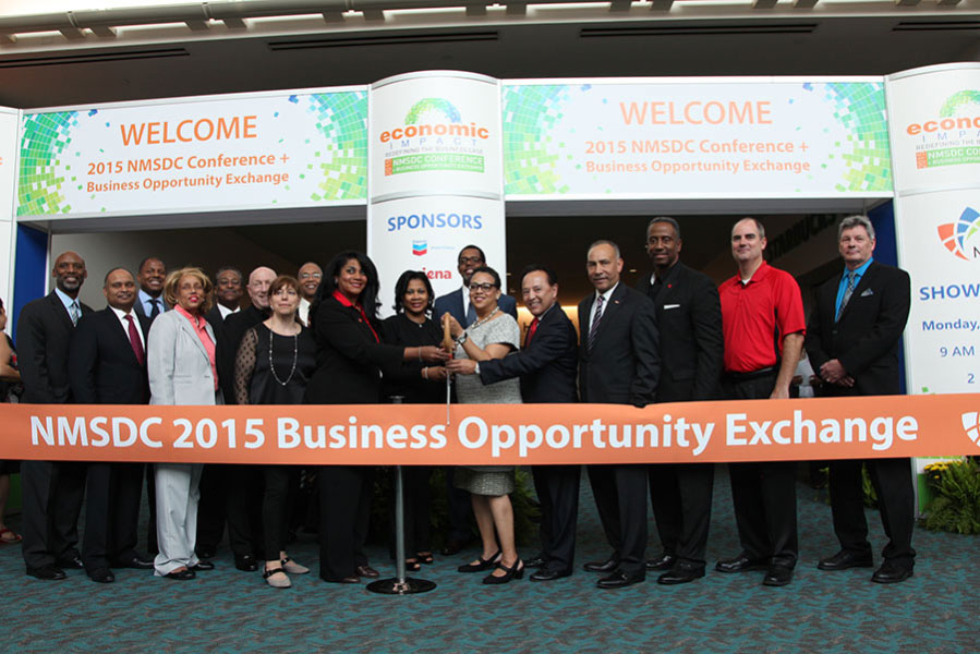 Ribbon Cutting Ceromny at the 2015 Business Opportunity Exchange