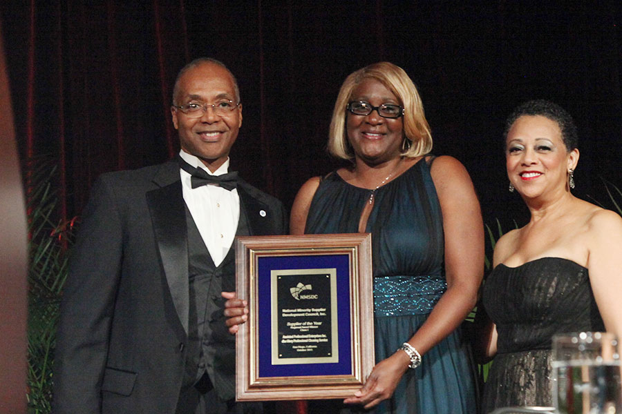 2015 Supplier of the Year (Class I) Awardee Anointed Professional Enterprises Inc.