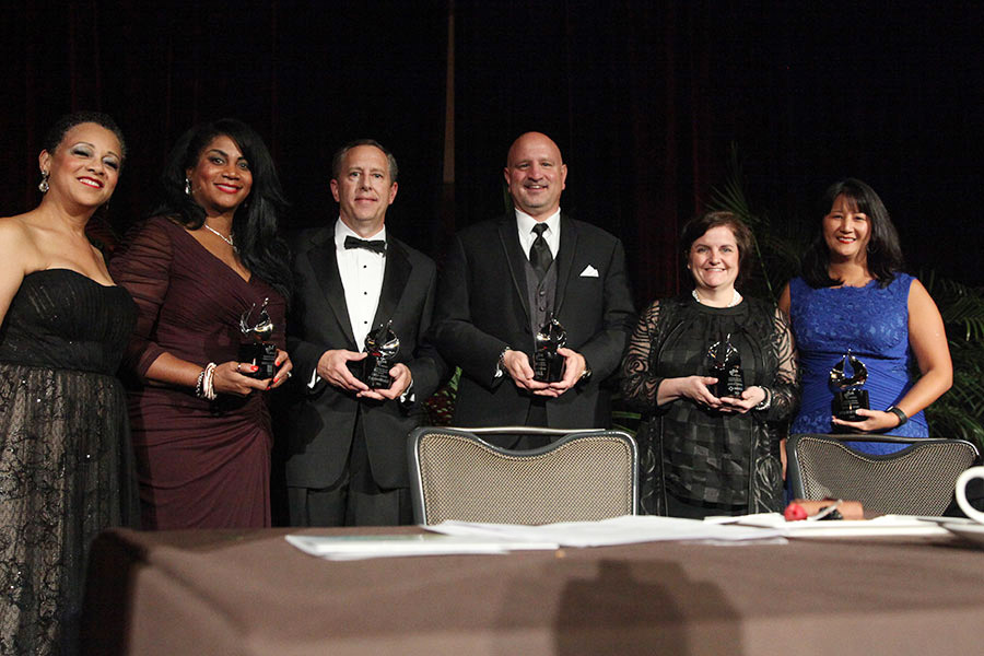2015 Gazelle Company Awardees Wells Fargo, Exxon, Dell, Merck, and Starbucks