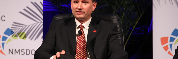 Steven Binkowski at the Tuesday Plenary Session