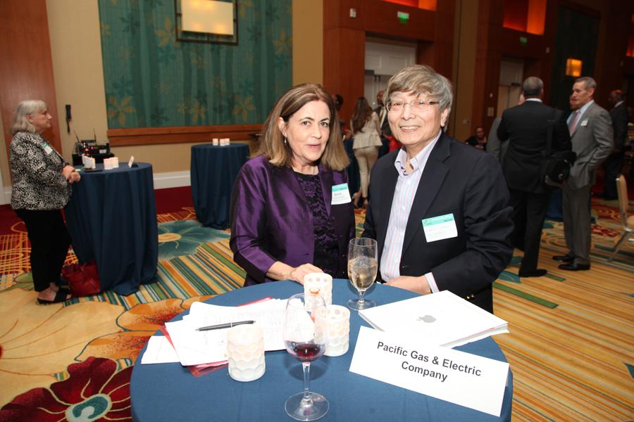 Joan Kerr (PG&E) and Albert Chen (Telamon Corp.)